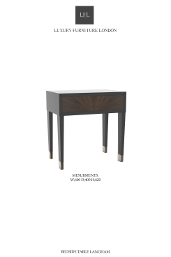 BEDSIDE TABLE LANGHAM