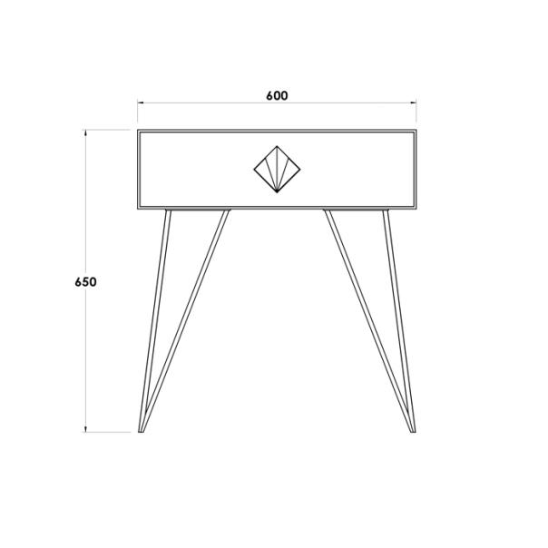 MAYFAIR BEDSIDE TABLE (2)
