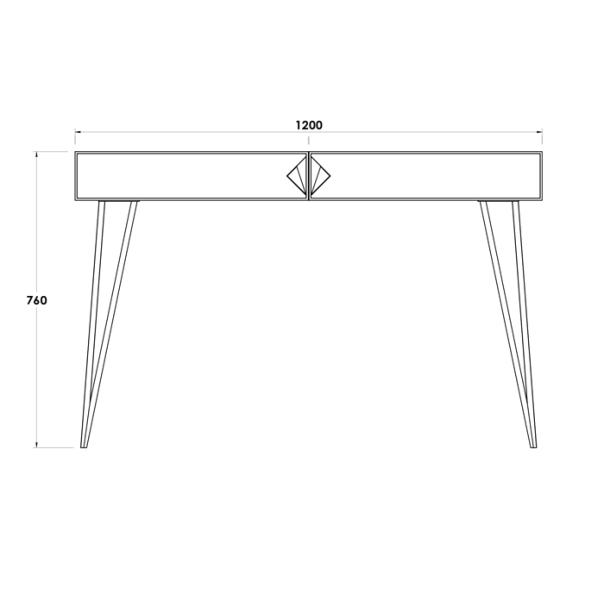 MAYFAIR CONSOLE TABLE (2)