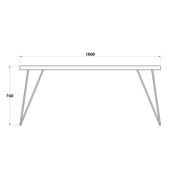 MAYFAIR DINNING TABLE (2)