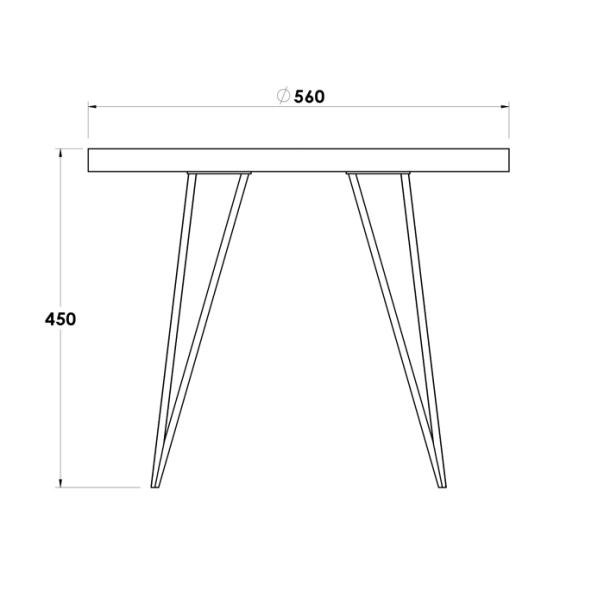 MAYFAIR SHORT SIDE TABLE (2)