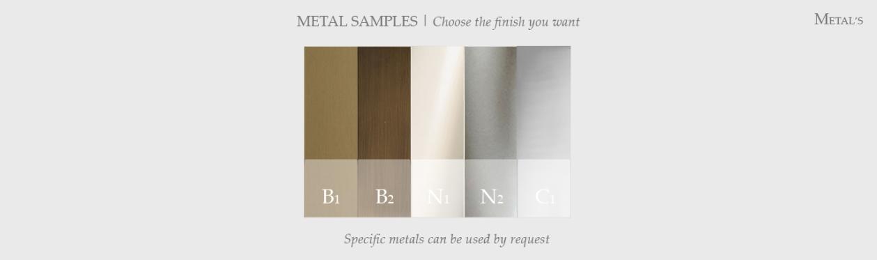 metal layout