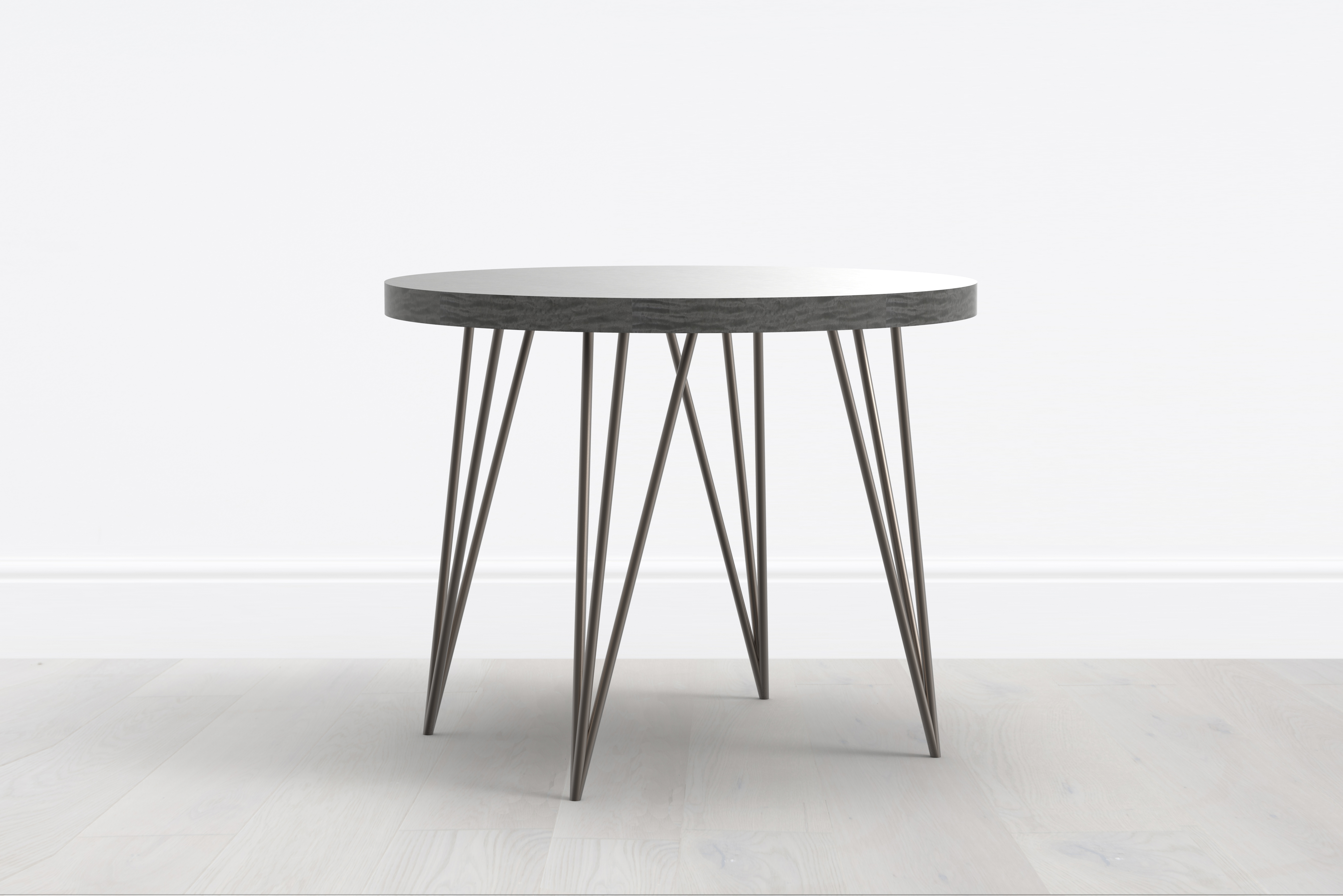 Tall side table charming tall accent table best images for Tall black end table