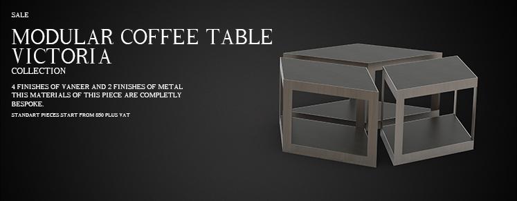 VICTORIA MODULAR COFFE TABLE
